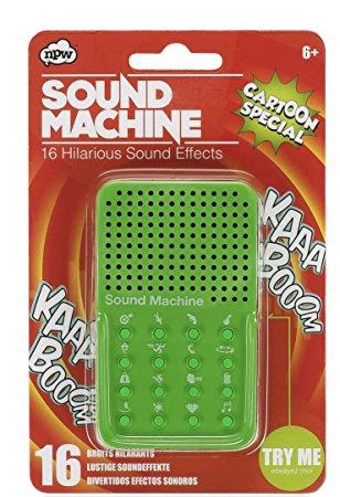NPW ROW - Sound Machine Cartoon Special