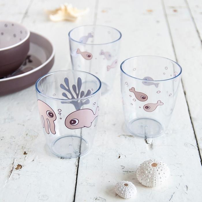 Done By Deer - Sea Kubki Mini Glass Powder