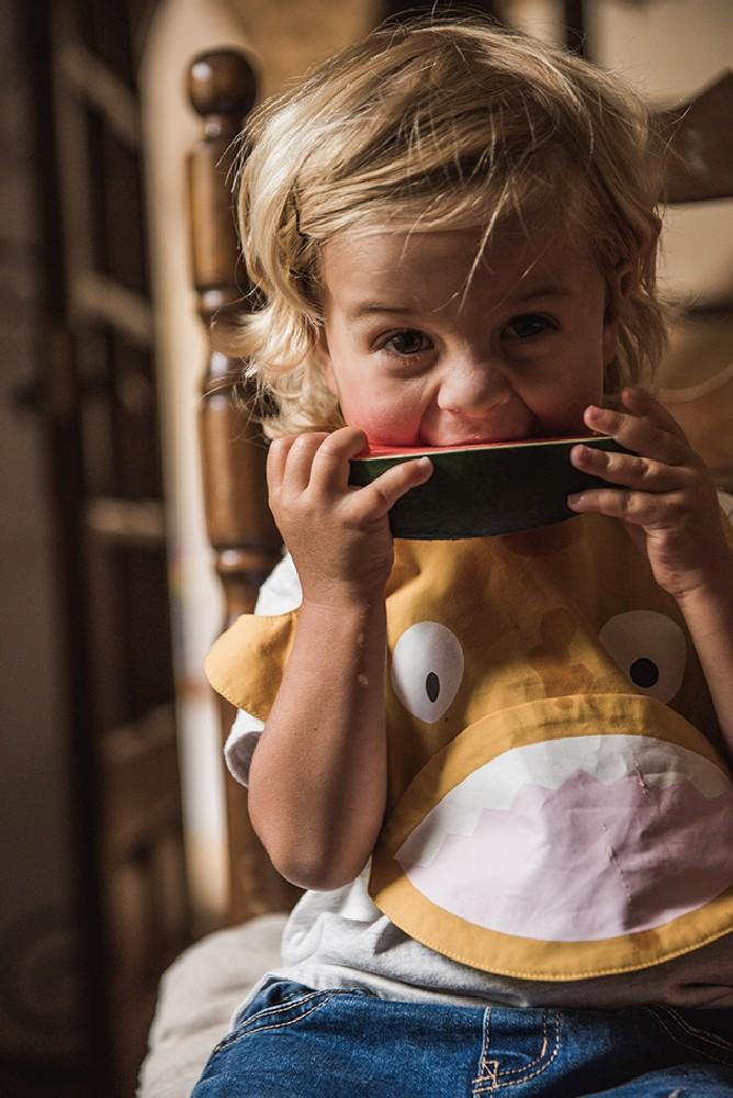 Baby Bites - Śliniak Nieprzemakalny Musztardowy