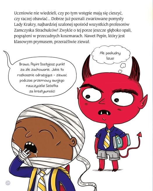 Wydawnictwo Adamada - Zamczysko Strachulców. Grom z Jasnego Nieba