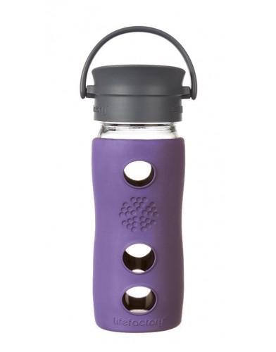 Lifefactory - Butelka Szklana na Gorące Napoje 350ml Violet