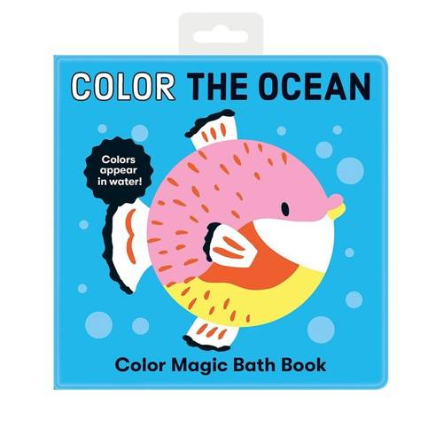 Mudpuppy - Magiczna Książeczka do Kąpieli Kolory Oceanu 0+