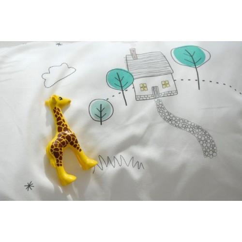 Effii - Pościel Dziecięca 155x200 Wesoły Dzień