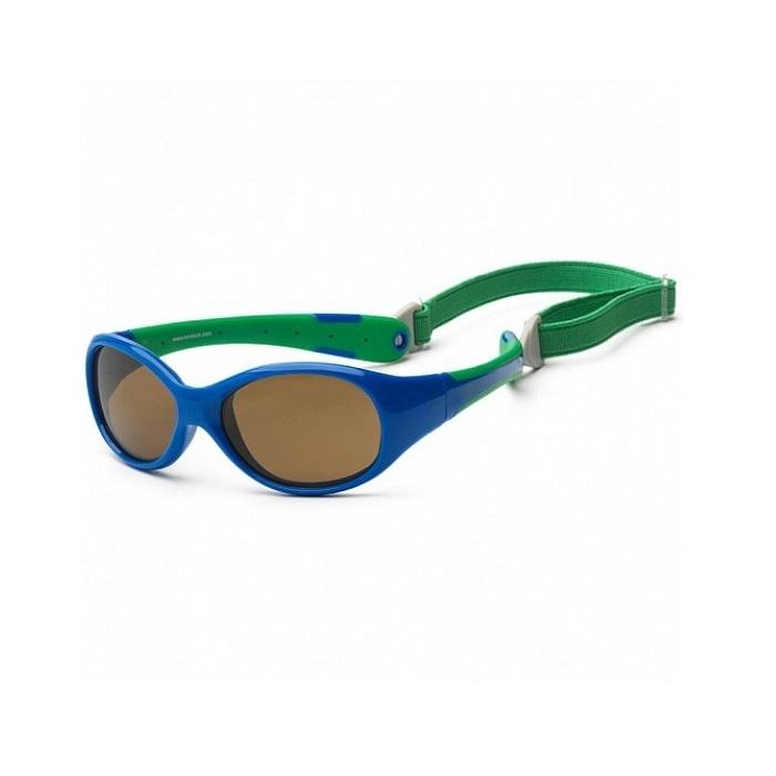 Koolsun - Okularki dla Dzieci Flex Royal Green 3-6 lat