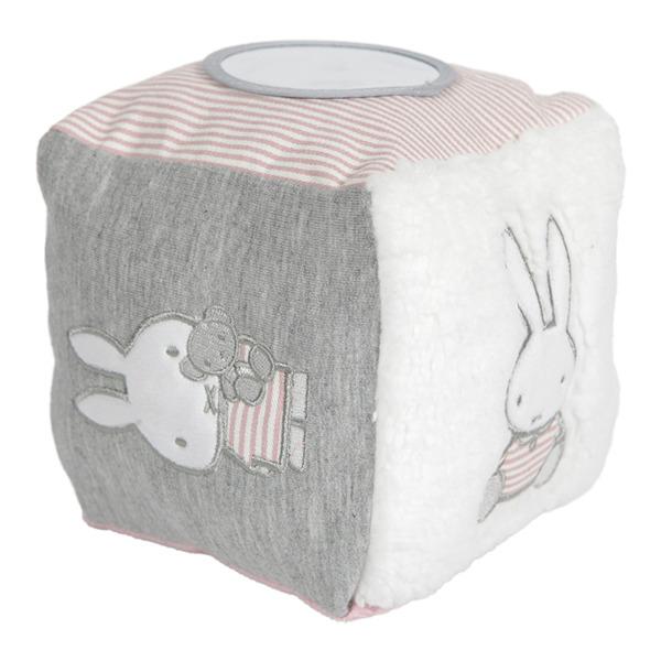 Tiamo - Kostka Sensoryczna Miffy Pink Babyrib 0m+