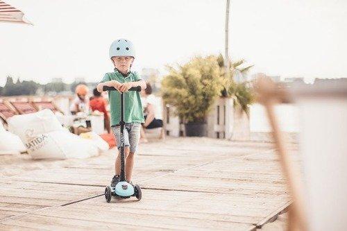 Scootandride - Kask S-M dla Dzieci 3+ Ash