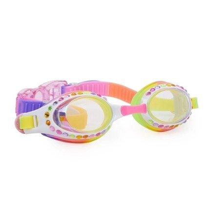 Bling2O - Okulary do Pływania Kokosowe Konfetti 3+
