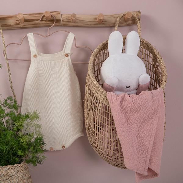 Tiamo - Przytylanka Miffy Peek a Boo Pink Babyrib 0m+