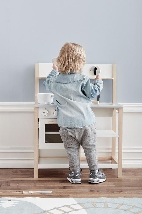 Kids Concept - Drewniana Kuchnia Biała