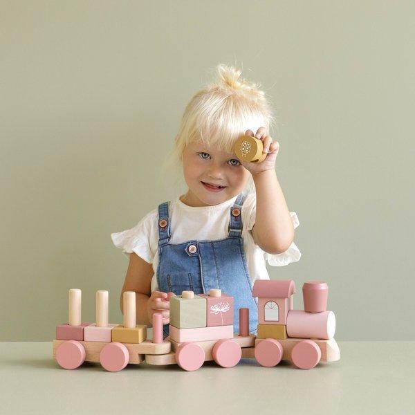 Little Dutch - Pociąg Róż 12m+