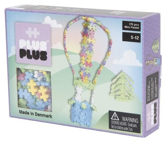 Plus Plus - Klocki Mini Pastel 170 Balon