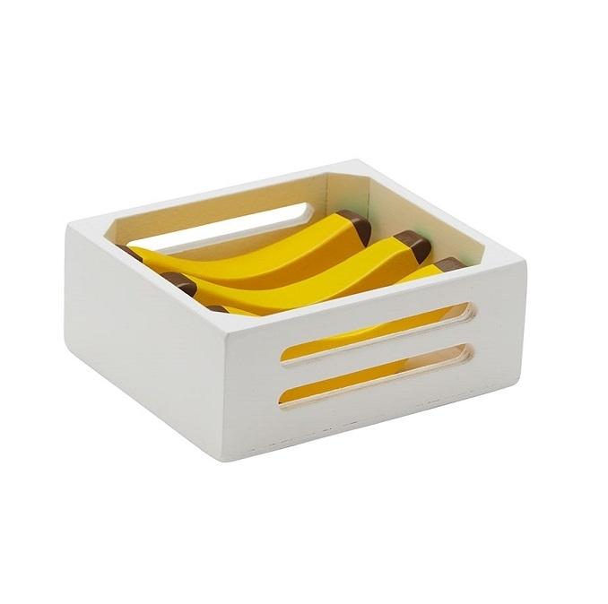 Kids Concept - Skrzynka Drewniana z Bananami