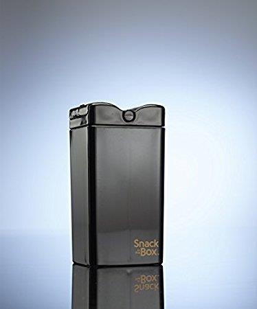 SNACK IN THE BOX - Unique Pojemnik na przekąski black