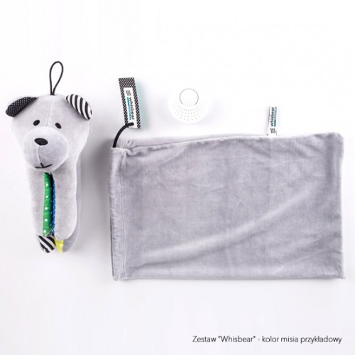 Whisbear - Szumiący Miś Turkus CrySensor
