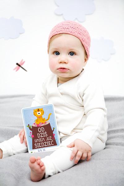 Milestone - Karty do Zdjeć  Pierwszy Rok Życia Dziecka