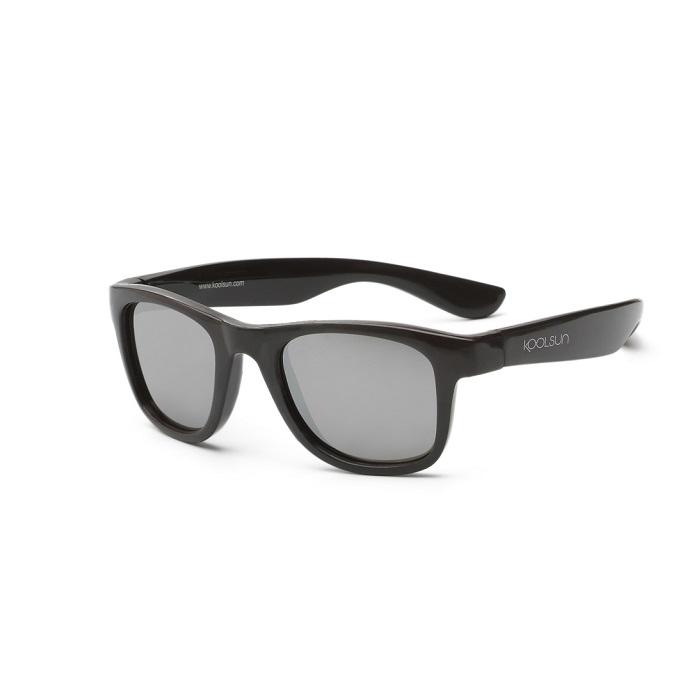 Koolsun - Okularki dla Dzieci Wave Black Onyx 3-10 lat