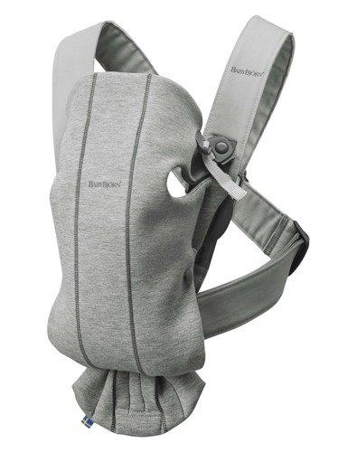 BabyBjorn - Nosidełko Mini 3D Jersey Jasny Szary