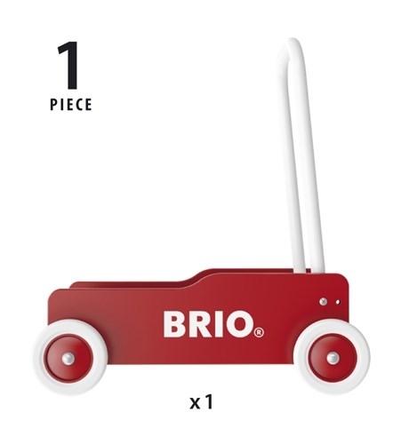 BRIO - Pchacz Drewniany Do Nauki Chodzenia