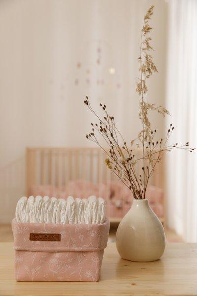 Little Dutch - Pojemnik na Akcesoria Mniejszy Wild Flowers Pink