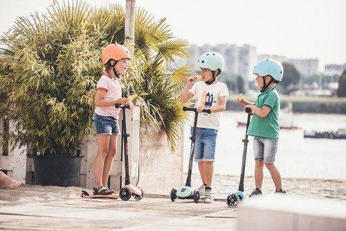 Scootandride - Kask S-M dla Dzieci 3+ Kiwi Kolekcja Icecream