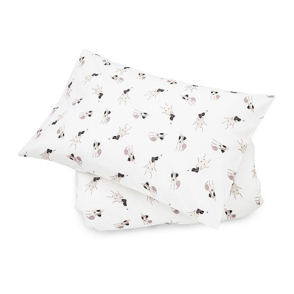 Maki Mon Ami - Komplet Bawełnianych Poszewek na Pościel XL Terrier Happy Pieski