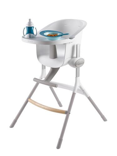 Beaba - Krzesełko do Karmienia Up&Down Grey/White