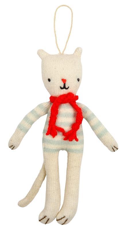 Meri Meri - Zawieszka Kot w Sweterku