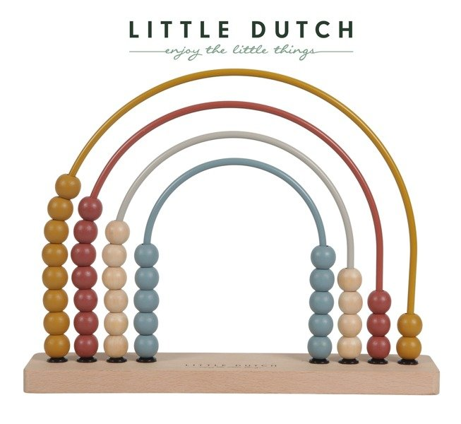 Little Dutch - Metalowe Liczydło Pure & Nature 2+
