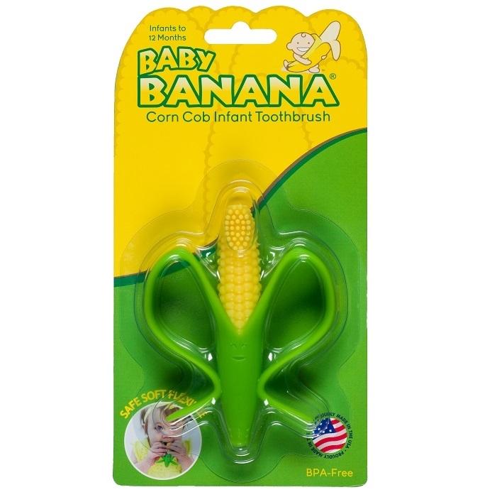 Baby Banana - Szczoteczka Treningowa Kukurydza 3m+